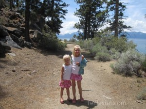 Hiking at Lake Tahoe