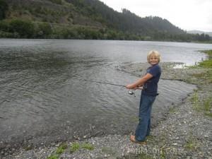 Jordan fishing