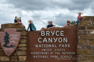 Entering Bryce Canyon