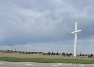 Groom's Giant Cross