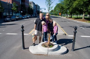 Smallest park in the world!