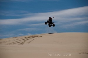 Jumping the dunes