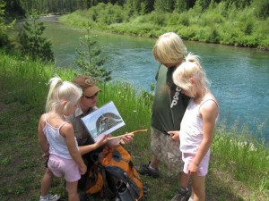 Ranger hike with kids