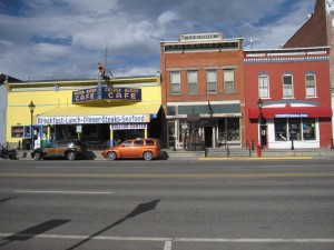 Harrison Street - Downtown Leadville Colorado