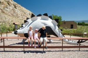 Dinosaur at Dinosaur National Monument Visitor's Center