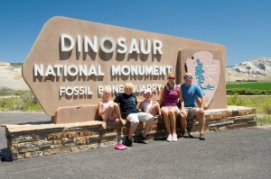 Entering Dinosaur National Monument