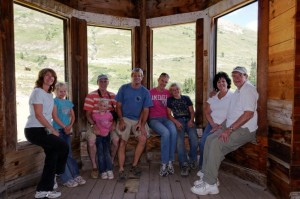 Inside a home in Animas Forks ghost town