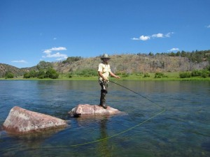 Flyfishing for Rainbow and Browns