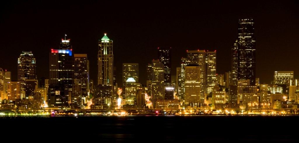 Seattle Night City Scape