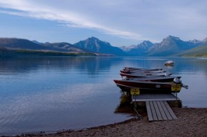 McDonald Lake in the late evening