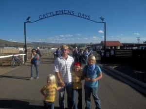 Cattlemens Days in Gunnison Colorado