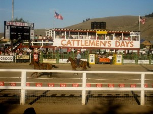 Rodeo during Cattlemens Days
