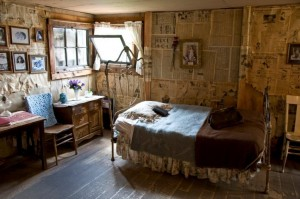 Inside Baby Doe Tabor's Home in Leadville Colorado at the Matchless Mine