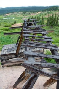 Mines in Stumpville by Leadville