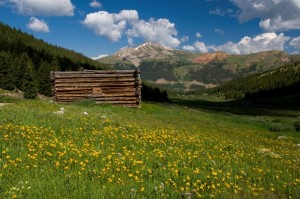Mayflower Gulch near Leadville Colorado