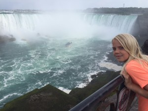Alyssa at Niagara