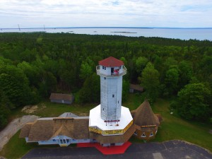 MackinacBridgeLookoutTower