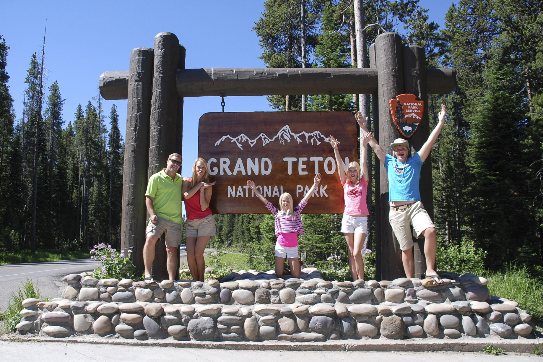 Teton welcome sign-a