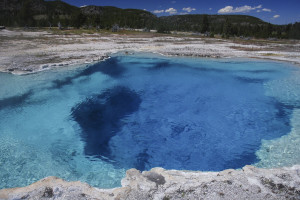 clear blue geyser a