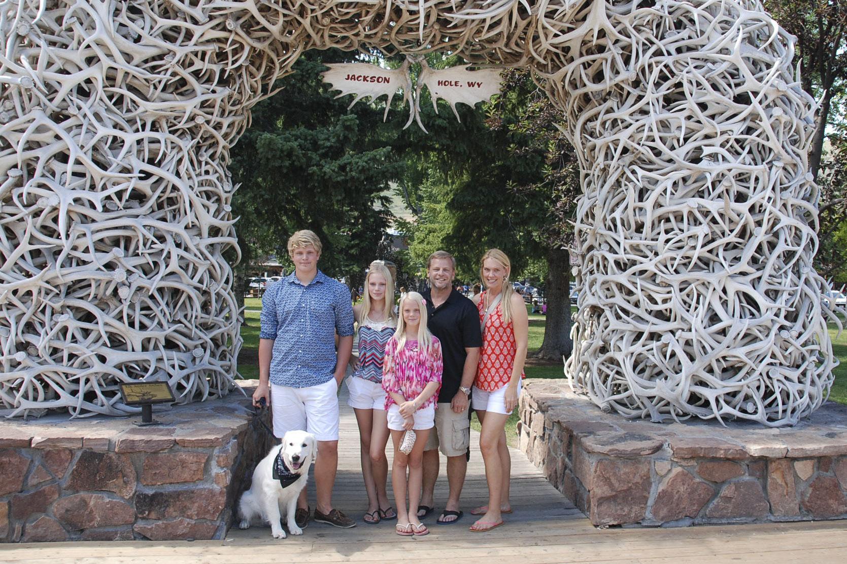 Jackson Hole Park - antlers-a