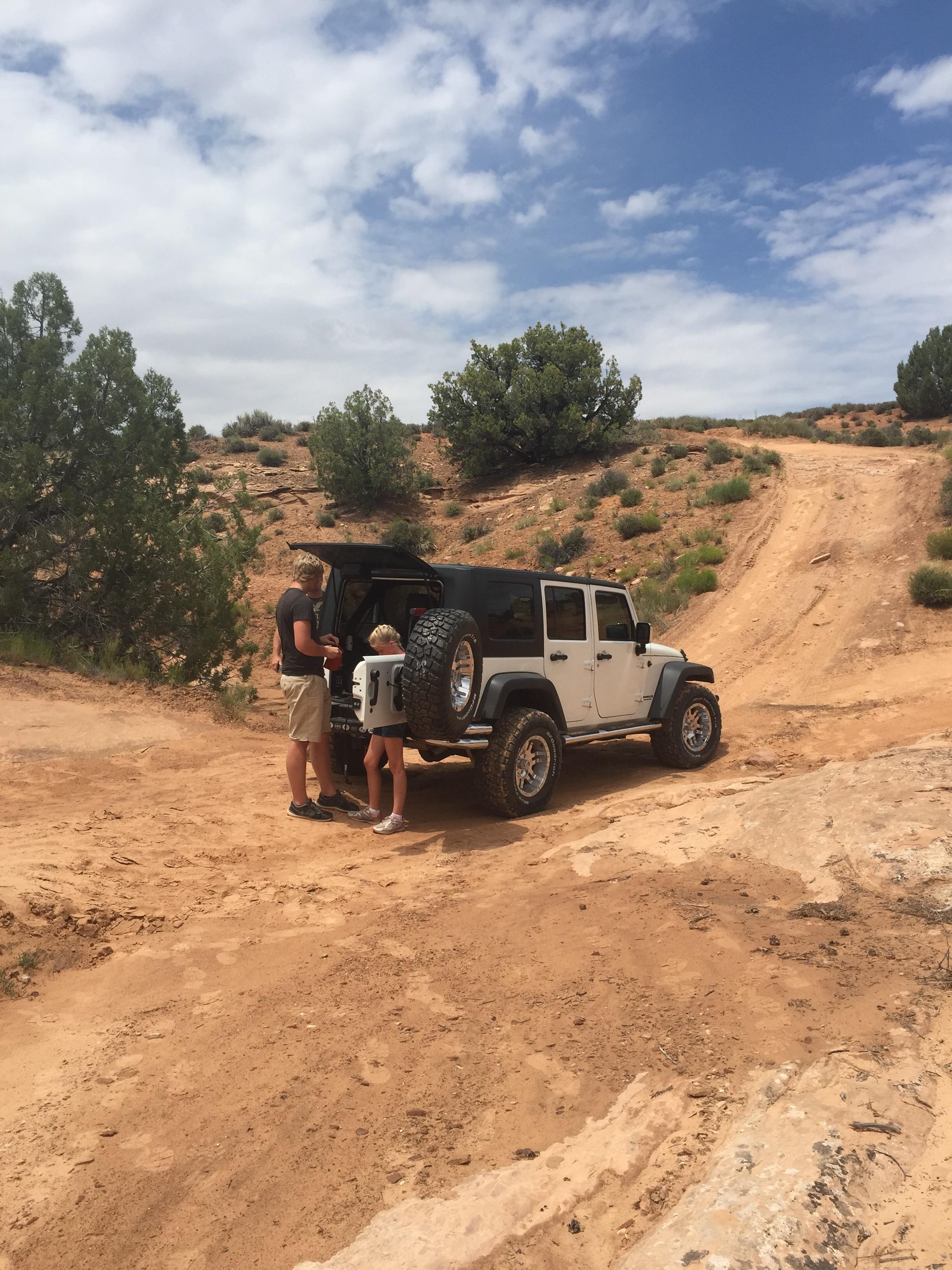 Jeep Stuck